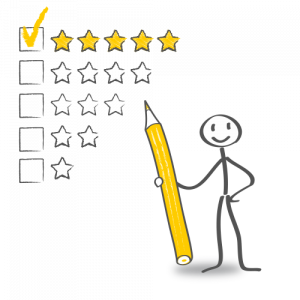 5-Sterne Bewertung
