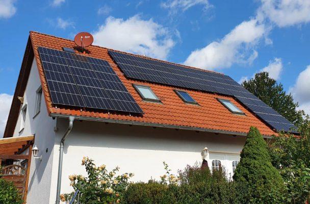 Photovoltaik-Hausdach
